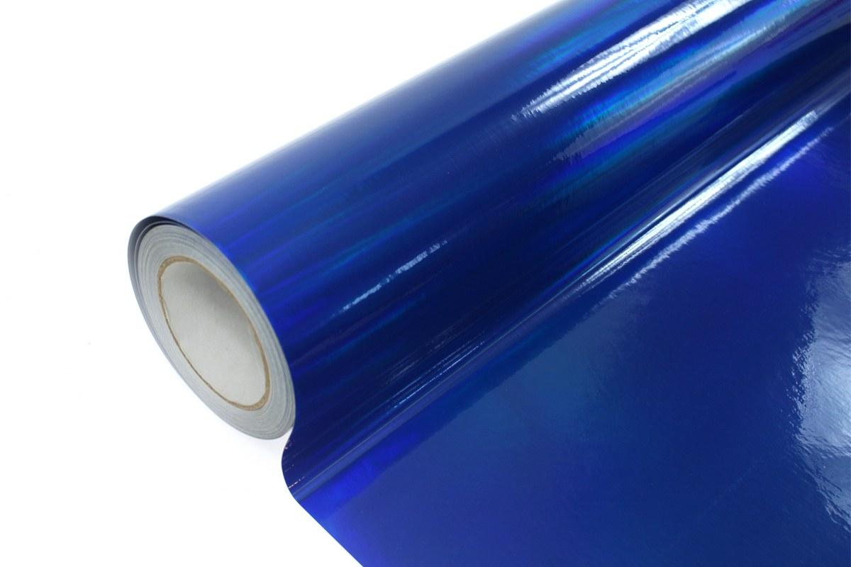 Folia Wrap Blue Holo 1,52X20m - GRUBYGARAGE - Sklep Tuningowy
